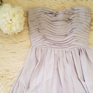 Charlotte Russe Dusty Mauve/Lavender Dress